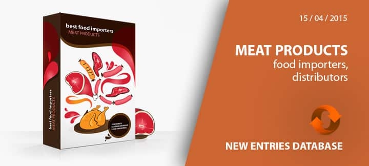 New entries update – Meat Importers database – Best Food ...